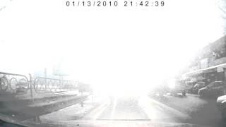 Відеореєстратор Gazer H511, коли порушений баланс білого