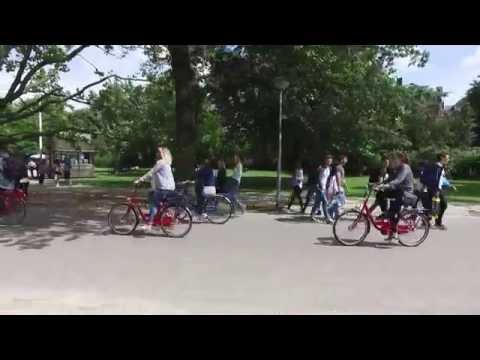 Walking through Vondel Park - Amsterdam June 2016