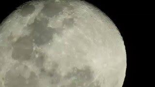 Nikon P900,  Moon from Santiago, Chile