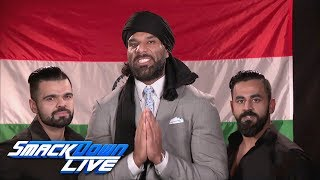 Jinder Mahal has a warning for Xavier Woods: SmackDown LIVE, Jan. 9, 2018