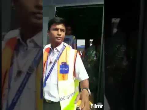 Indigo Idiot Staff misbehaved passenger