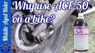 Protect your bike from corrosion - vital in the UK (ACF-50)