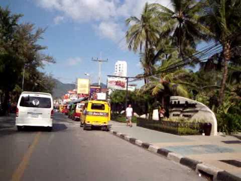 Phuket Thailand - A Riding Tour Patong Dec 2009