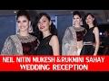 HOTTEST Urvashi Rautela At Neil Nitin Mukesh's Wedding Reception