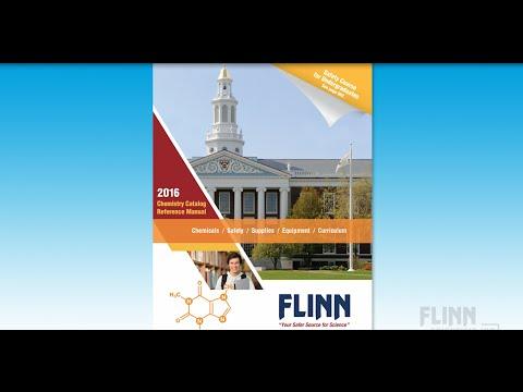 Flinn Scientific Higher Education Chemistry Catalog Reference Manual