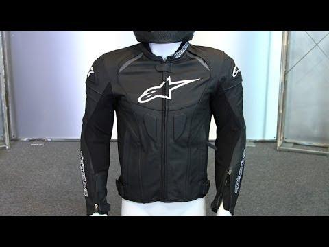 Alpinestars Motorcycle Jacket >> Alpinestars GP Plus R Leather Jacket | Motorcycle Superstore - YouTube