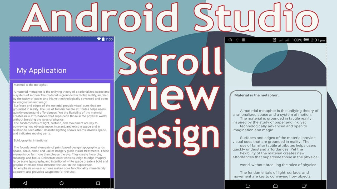 Android Sticky Header Scrollview