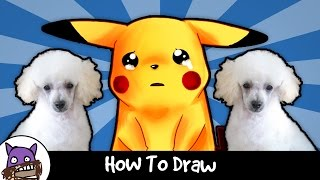 ✐ How To Draw PoodleCorp (Pokemon Go Hack) ✐