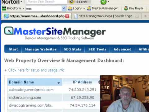 SEO Tools | Master Web Site Manager