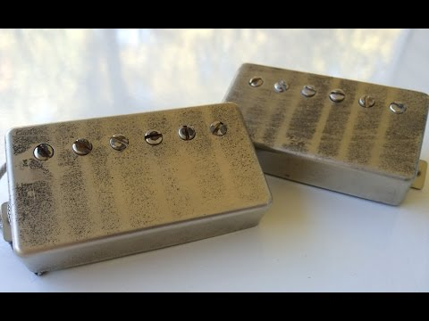 Gibson Burstbuckers vs  Vaughn Skow Pickups '59/1960 Historic PAFs
