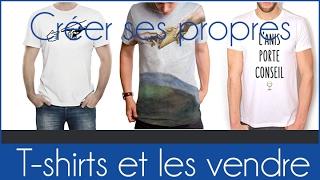 Créer un t shirt personnalisé rapidement   épisode 1   logo pop art