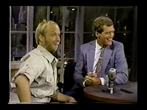 Chris Elliott on David Letterman Zoo director