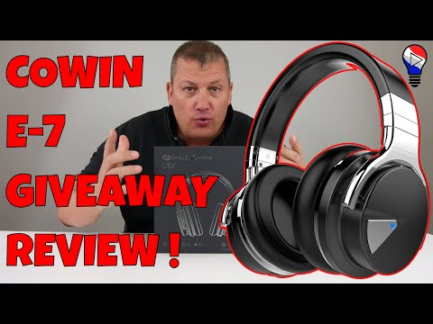 Ecouteur Cowin E 7 Headphone Wireless Bluetooth Test Review Francais ThinkunBoxing 4k