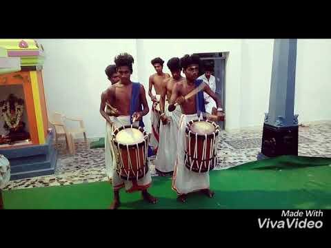 Kovil function Kerala drums