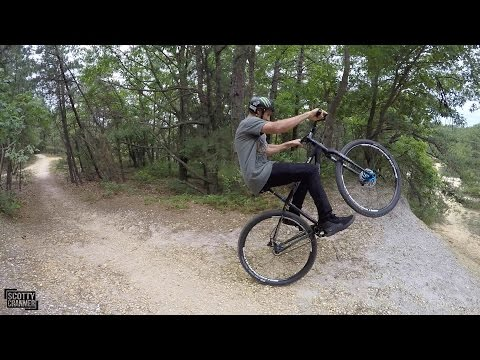 GETTING LOST ON MOUNTAIN BIKES!