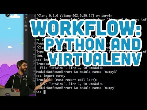 Workflow: Python and Virtualenv thumbnail