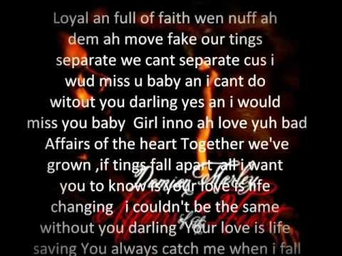 Damian Marley- Affairs of the Heart lyrics