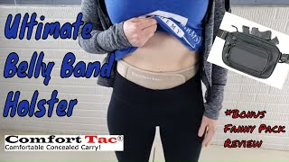 Ultimate Belly Band Holster | ComfortTac Holster & Fanny Pack Review