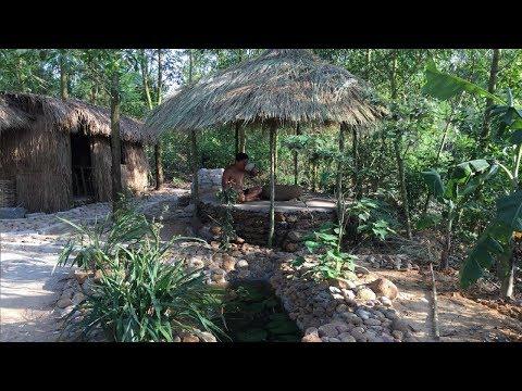 Primitive Life:Holiday Hut part 3