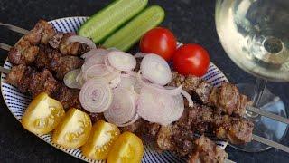 Шашлык Кокандский(Рецепт шашлыка довольно типичного для Узбекистана, который представляет собой нечто среднее между Бара..., 2016-04-18T21:28:18.000Z)