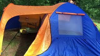 Видеообзор - отзыв палатки Coleman 1036