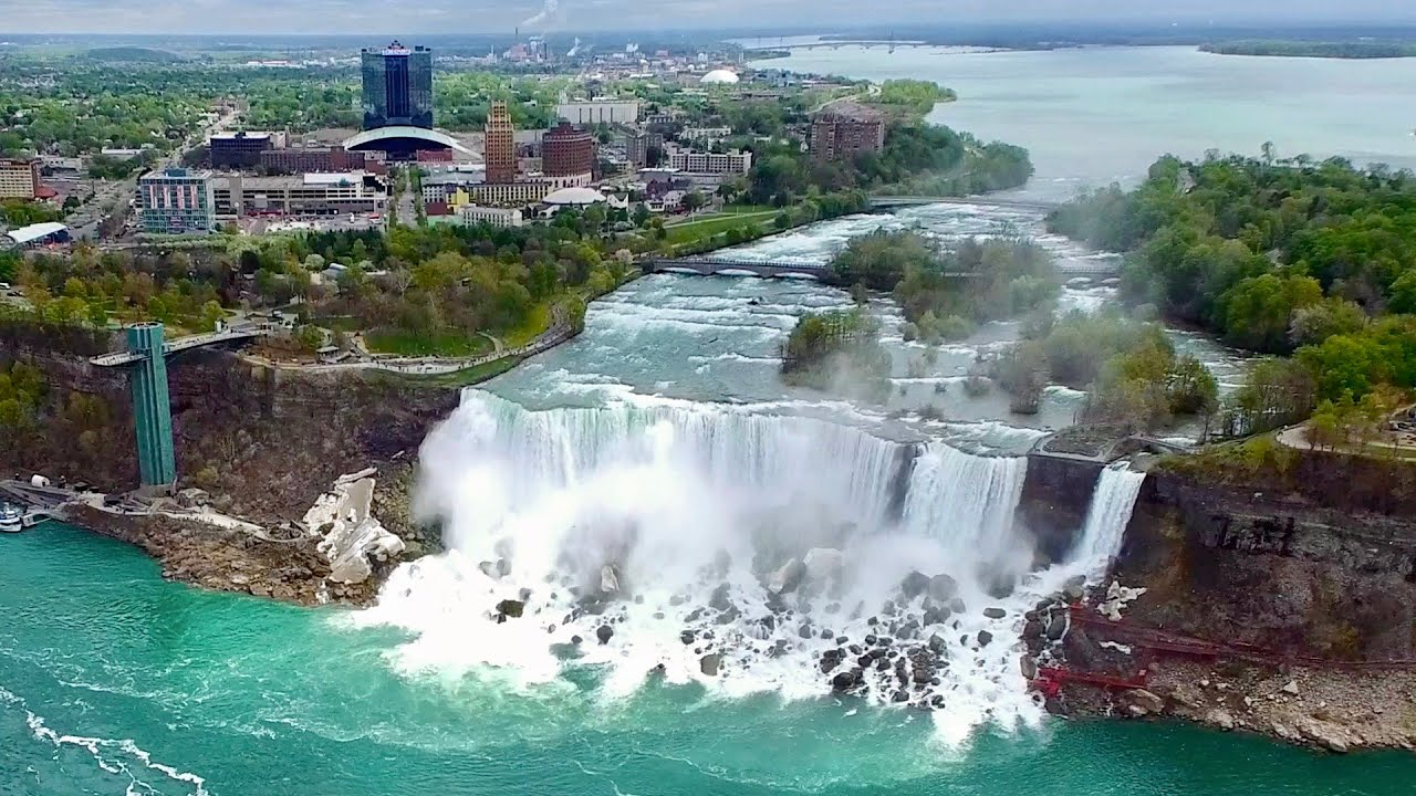 Niagara Falls Skylon Tower Scenic Views Hd Youtube