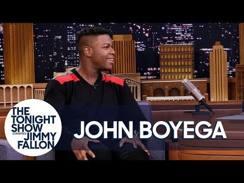Jimmy Fallon vs. John Boyega's Parents Gave Him Paper Shredder for Birthday Gift