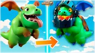 ¡¡ EL ORIGEN DE LOS DRAGONES DE CLASH ROYALE !! BABY DRAGON Y DRAGON INFERNAL - [WithZack]