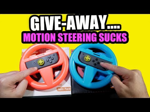 ORZLY Nintendo Switch Racing Wheel Review? NAH, GIVE AWAY…
