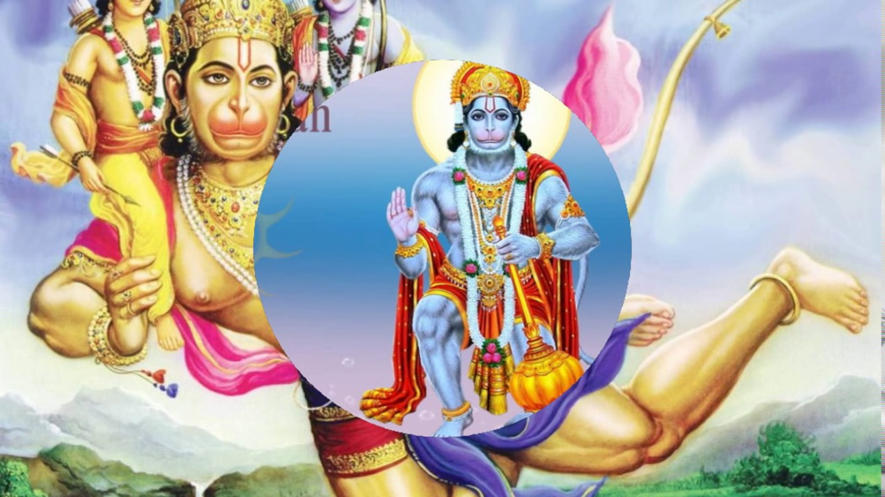 Blessed With Lord Hanuman Good Morning Wishes With Lord Hanuman