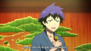 [ Nisekoi ] Ichijou raku singing enka songs ( Sub indo )