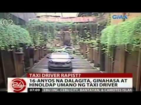 24Oras: 16-anyos na dalagita, ginahasa at hinoldap umano ng taxi driver