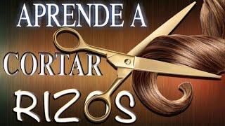 """Aprende como cortar el cabello rizo de una manera efectiva """"TUTORIAL"""""""