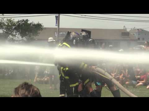 Bristol, RI -  Annual Firemen's Muster and Water Battle