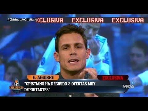 """¡EXCLUSIVA MUNDIAL de Edu Aguirre: """"CRISTIANO ha RECIBIDO TRES OFERTAS para salir del Madrid"""""""