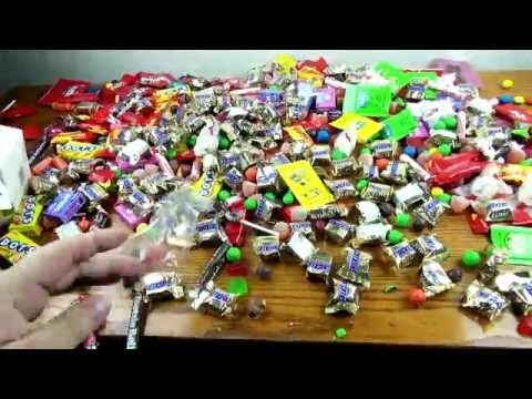 New! a lot of candy