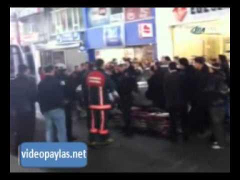 Mecidiyeköy'de trafik kazası!