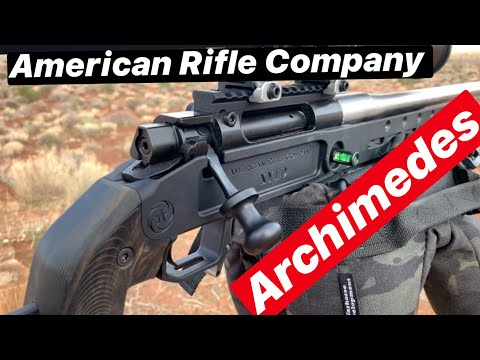 American Rifle Company Archimedes Action! Owner, Designer Review! With Ted Karagis