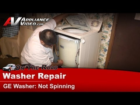 Washer Top Load Not Spinning Repair Diagnostic GE