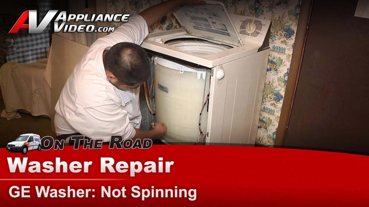 small resolution of washer top load not spinning repair diagnostic ge general electric hotpoint rca