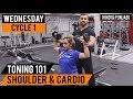 Shoulder Toning and Fat Loss Cardio Workout Routine! Cycle 1 (Hindi / Punjabi)