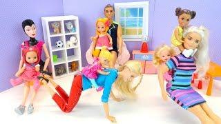 ДЕТСКИЙ САД ВМЕСТО ШКОЛЫ Мультик #Барби Сериал Мама и Маша Куклы Игрушки Для девочек IkuklaTV