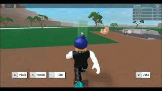 playing some lumber on roblox