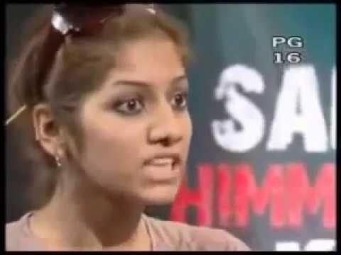 Bad  beauty Girl in Waqar Zaka Show
