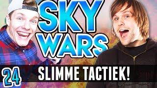 SLIMME TACTIEK!! - Ft. Enzo - Minecraft: *Team* Sky Wars #24