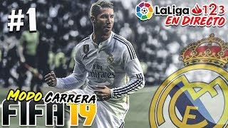 EMPIEZA LA AVENTURA EN SEGUNDA DIVISIÓN | Real Madrid #1 | FIFA 19 Modo Carrera Manager REAL