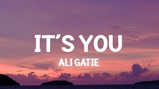 Its You - Ali Gatie (Slowed Lyrics)