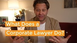 What Does a Corporate Lawyer Do & Do You Need One?