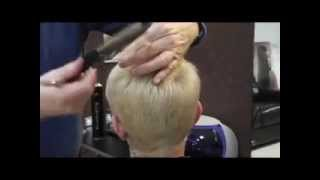 Pixie Cut  NEW short reverse graduation how to cut it Trevor Francis Hairdressing Longford / Dublin