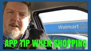 Great feature using the Walmart App. Money saving tip.